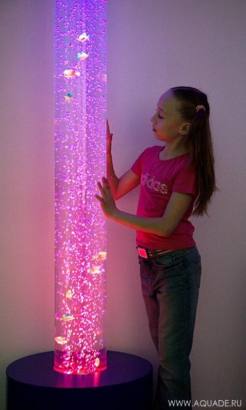 Как сделать лампа с пузырьками